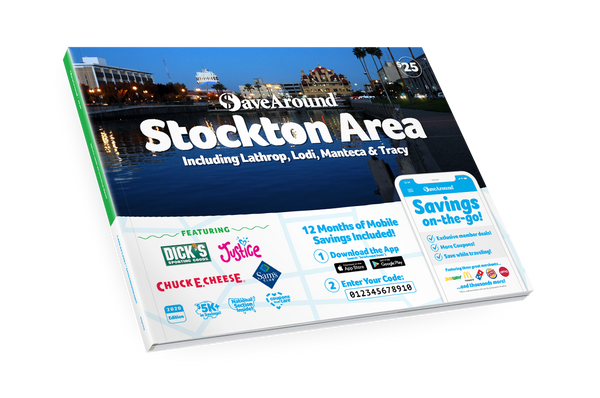 Stockton Area, CA 2020 SaveAround<sup>®</sup> Coupon Book