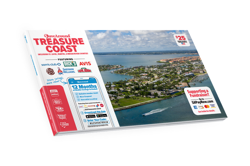 Treasure Coast SaveAround® Coupon Book