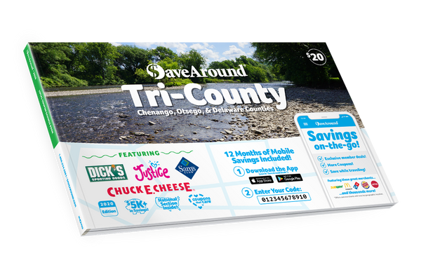 Tri-County, NY 2020 SaveAround® Coupon Book