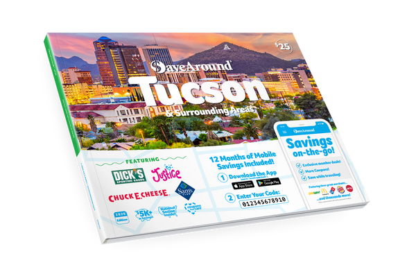 Tucson & Surrounding Areas, AZ 2020 SaveAround<sup>®</sup> Coupon Book