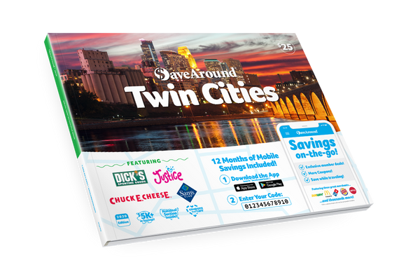 Twin Cities, MN 2020 SaveAround® Coupon Book
