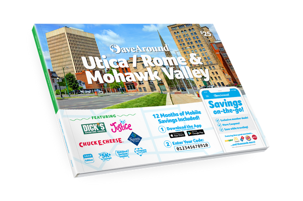 Utica / Rome & Mohawk Valley, NY 2020 SaveAround® Coupon Book