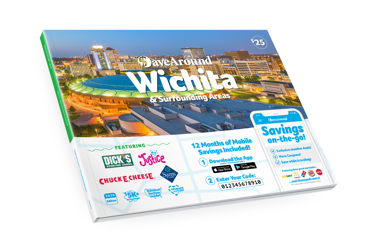 Wichita, KS 2020 SaveAround® Coupon Book