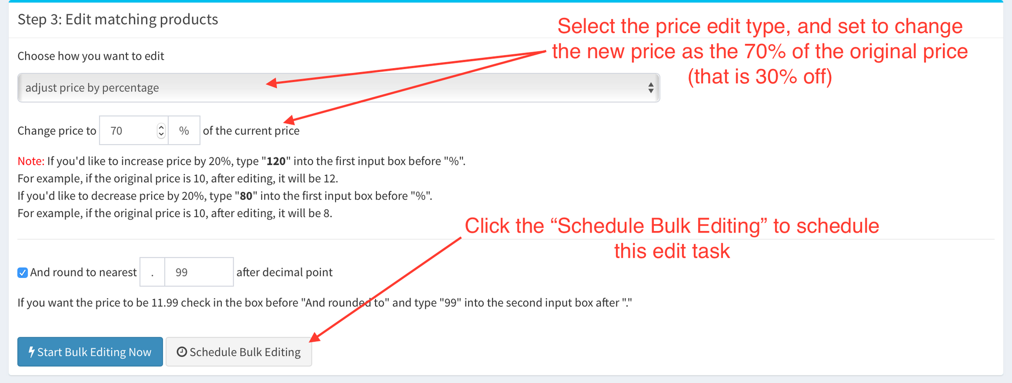 Shopify App - Bulk Product Edit by Hextom - Schedule Task Tutorial