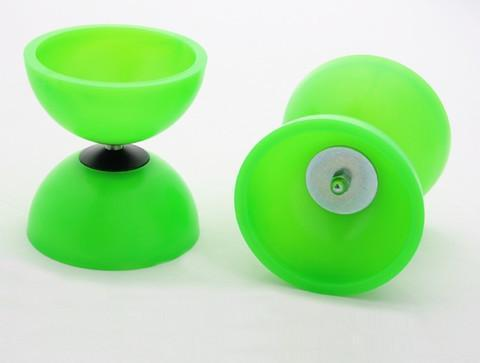 PLAY JUGGLING DIABOLOS green DIABOLO ASTRO PLAY (PALITOS INCLUIDOS)