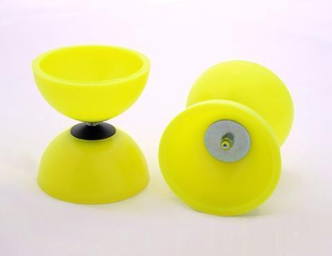 PLAY JUGGLING DIABOLOS yellow DIABOLO ASTRO PLAY (PALITOS INCLUIDOS)