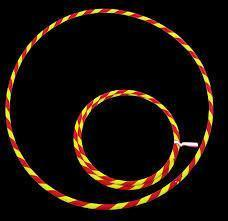 PLAY JUGGLING HULAS HULA PERFECT HOOP 16MM ASSORTED COLOURS