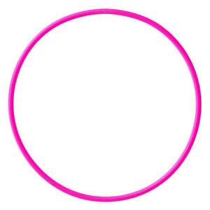 PLAY JUGGLING HULAS Pink uv HULA PERFECT HOOP 20MM