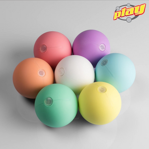 PLAY JUGGLING PELOTAS PLUG & PLAY BALL PEACH 75mm, 100g Semilla