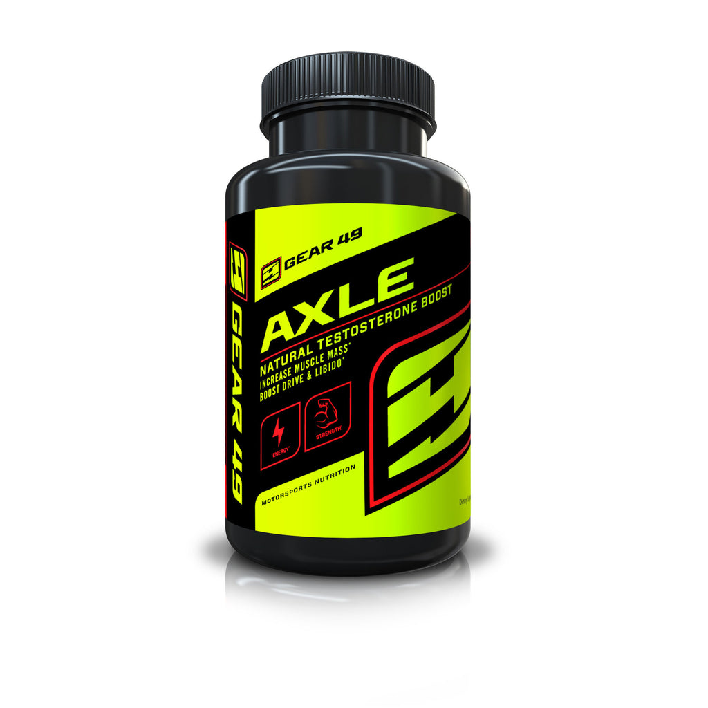 AXLE Natural Testosterone Boost - Gear 49 | MotorSports Nutrition