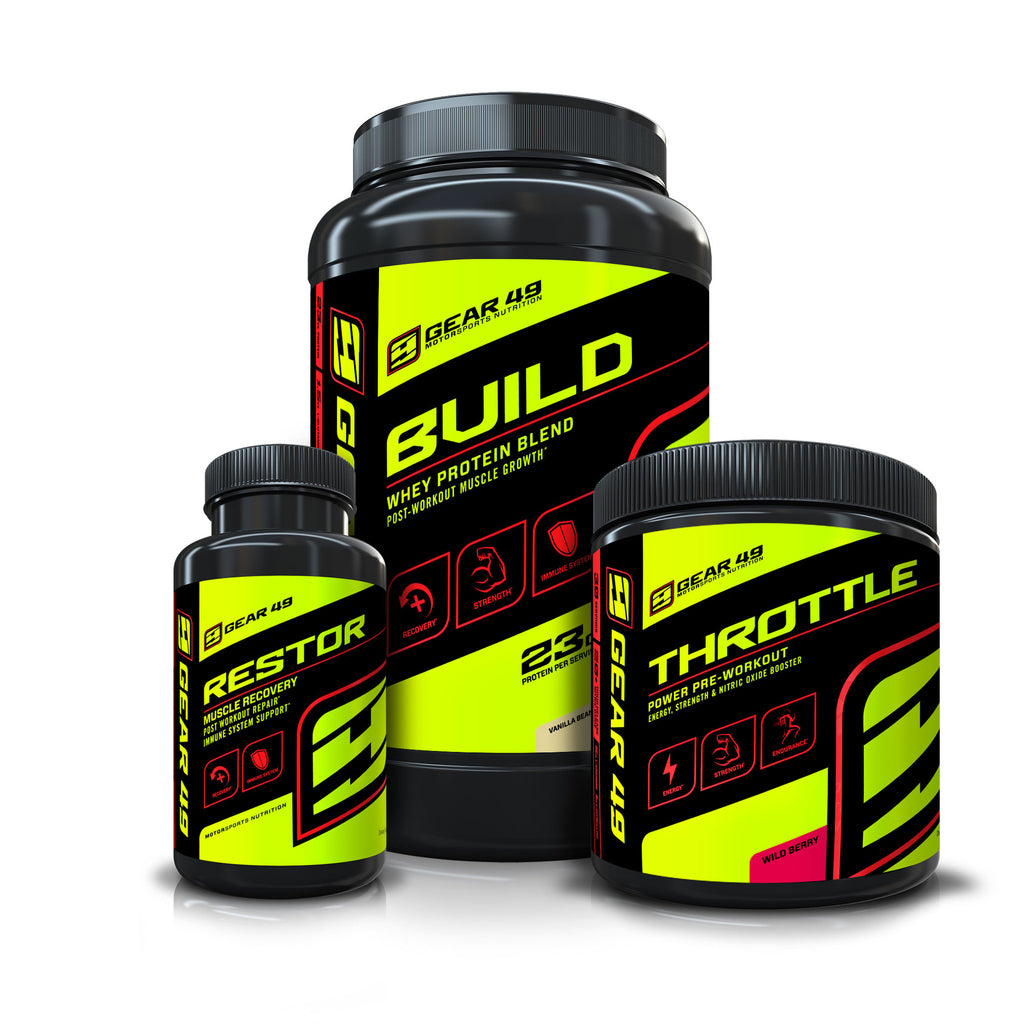 Gym Stack - Strength - Gear 49 | MotorSports Nutrition