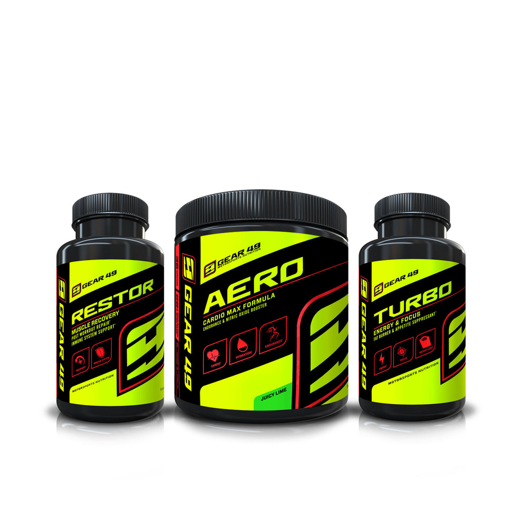 Race & Ride Stack - Gear 49 | MotorSports Nutrition