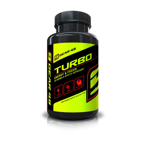 TURBO Energy & Focus - Gear 49 | MotorSports Nutrition