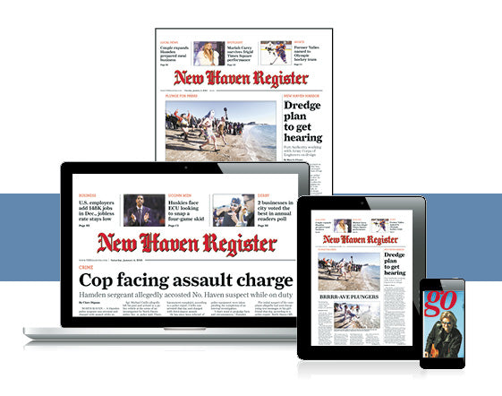 New Haven Register Back Issue