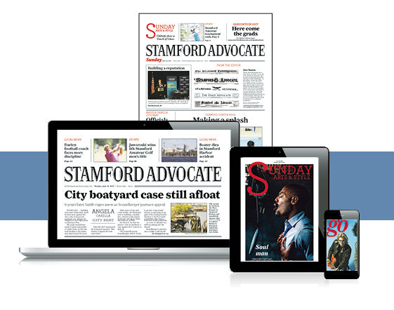 Stamford Advocate Back Issue