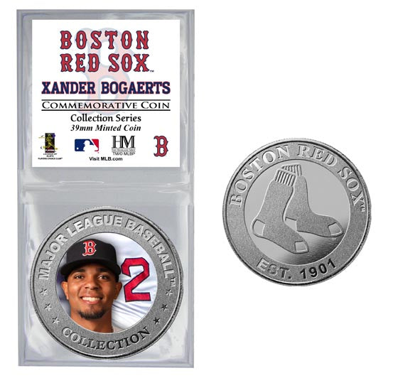 Xander Bogaerts Collector Coin (Price includes S&H)