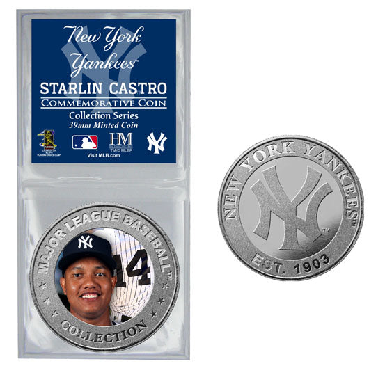 Starlin Castro Collector Coin (Price includes S&H)