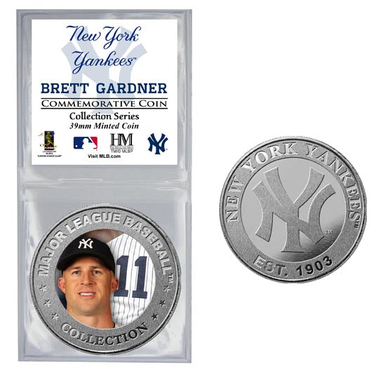 Brett Gardner Collector Coin (Price includes S&H)