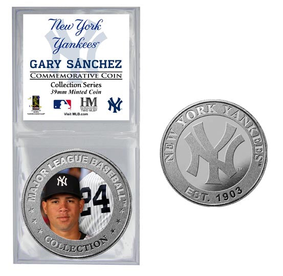 Gary Sanchez Collector Coin (Price includes S&H)