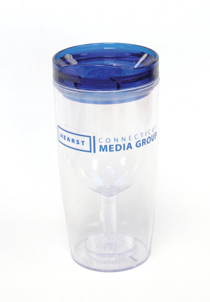 Hearst Media Group Wine Tumbler