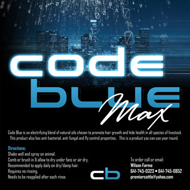 Code Blue Max - 1 Gallon