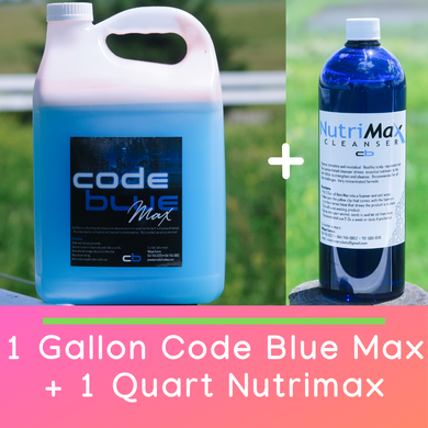 🛒 Package Deal 🛒 1 Gallon of Code Blue Max + 1 Quart of Nutrimax