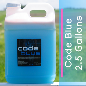 Code Blue Livestock Hair Product - 2.5 Gallons