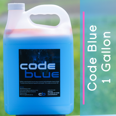 Code Blue Livestock Hair Product - 1 Gallon