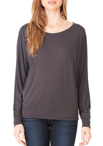 The Flowy Wide Neck Tee - Live the Give