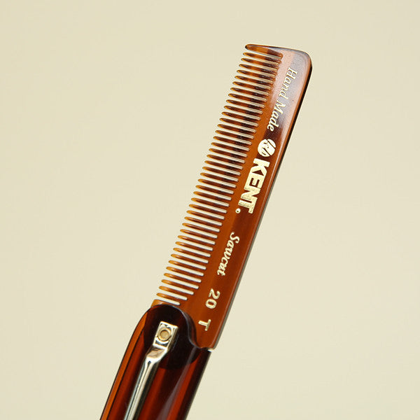 Kent Handmade Comb with Clip