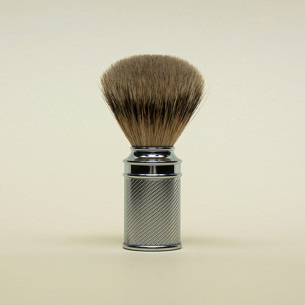 Shaving Brush - Silver