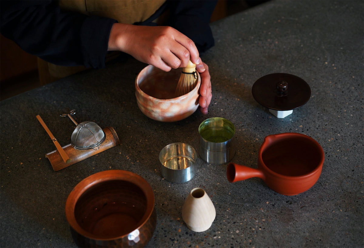 Matcha Tasting & Brewing