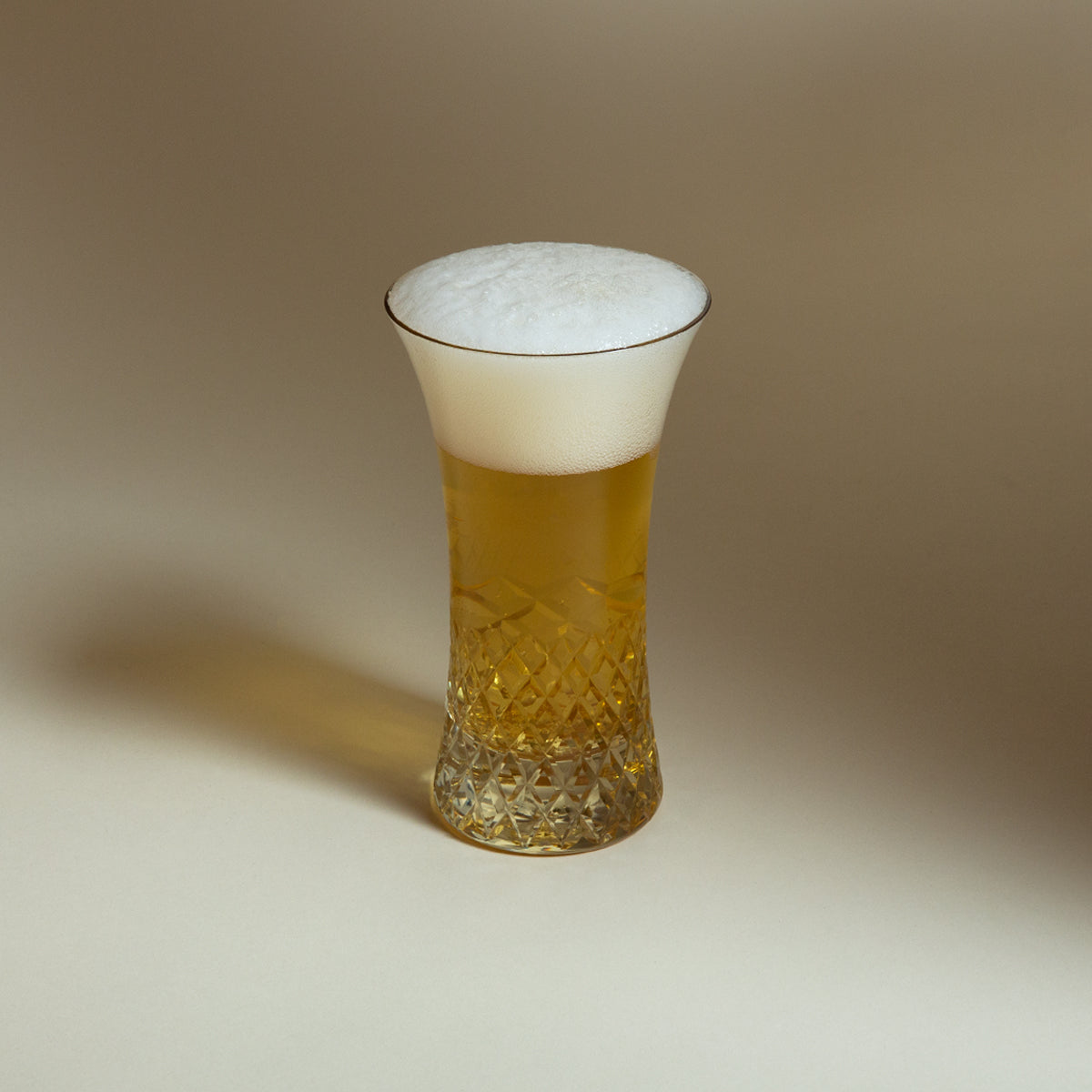 Edo Kiriko Beer Glass