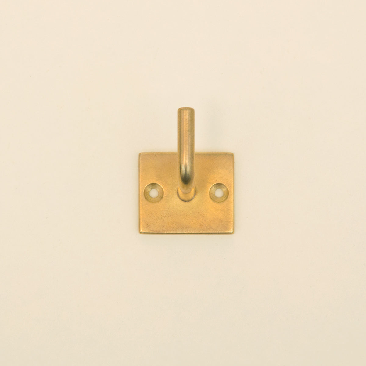 Brass Wall Hook - Square