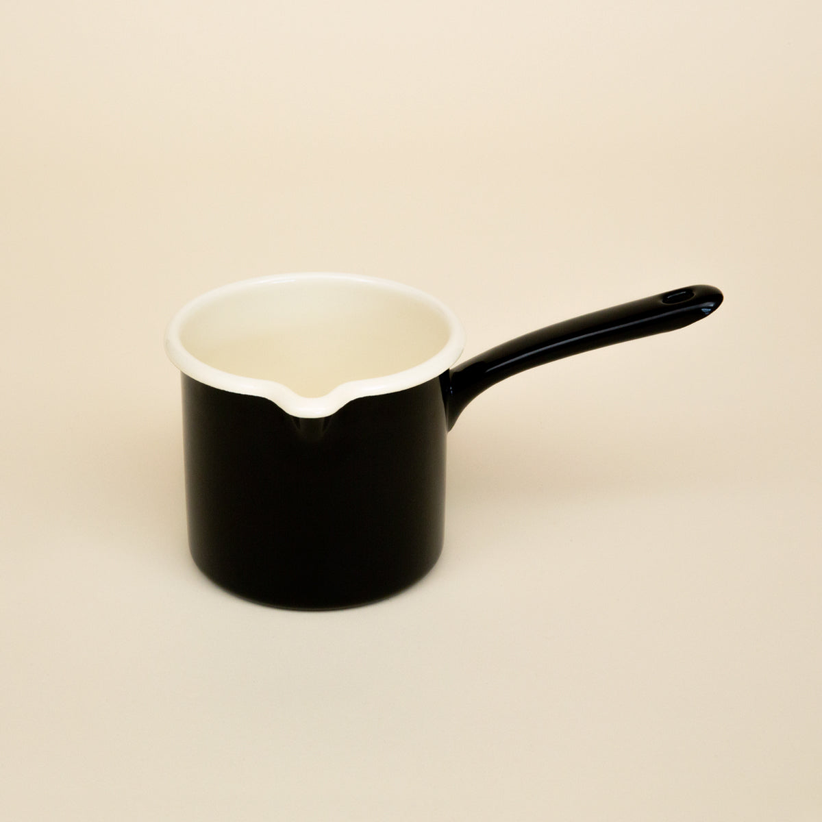 Enamel Milk Pot