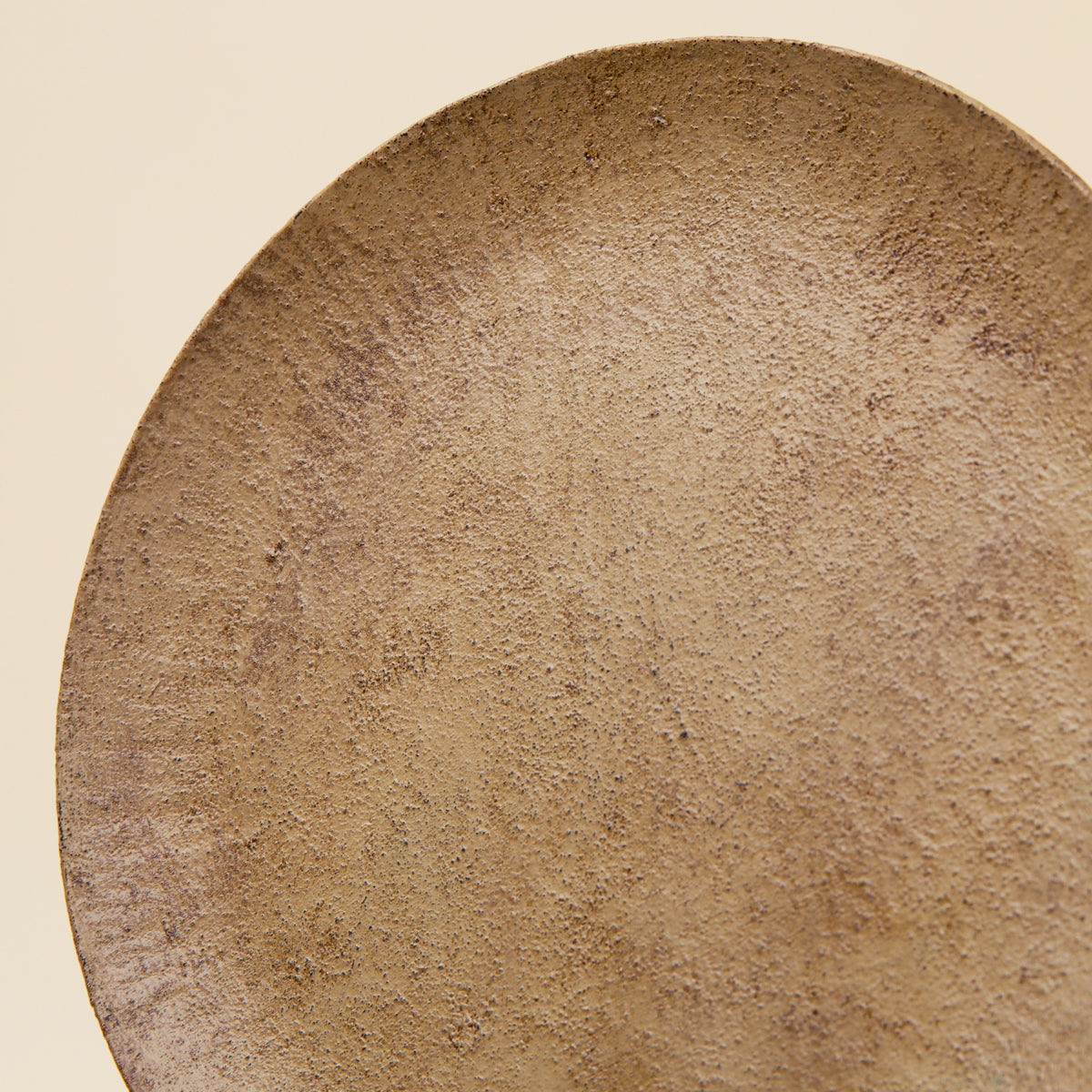Lacquered Wood Plate