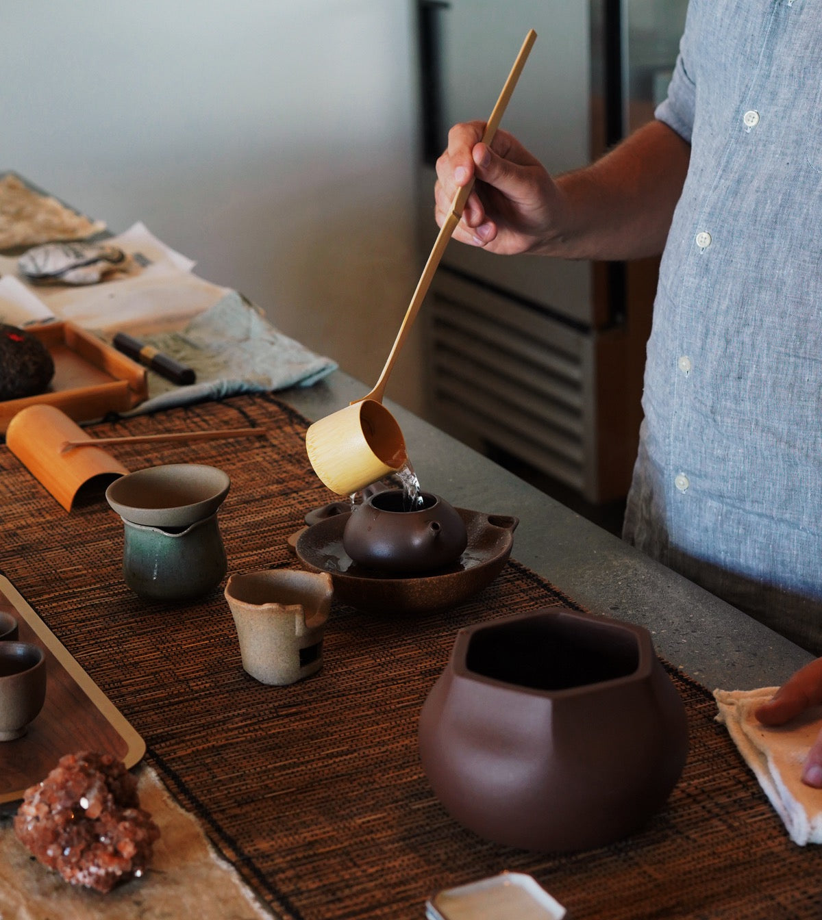 Pu-erh Tea Flight with Adam Yasmin
