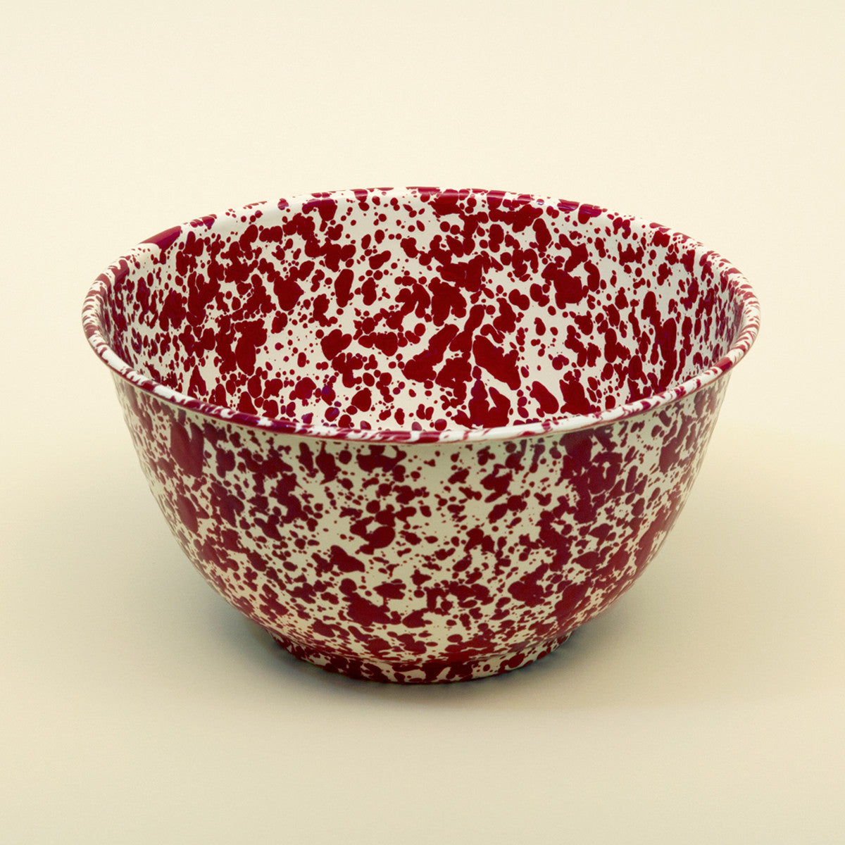 Enamel Salad Bowl