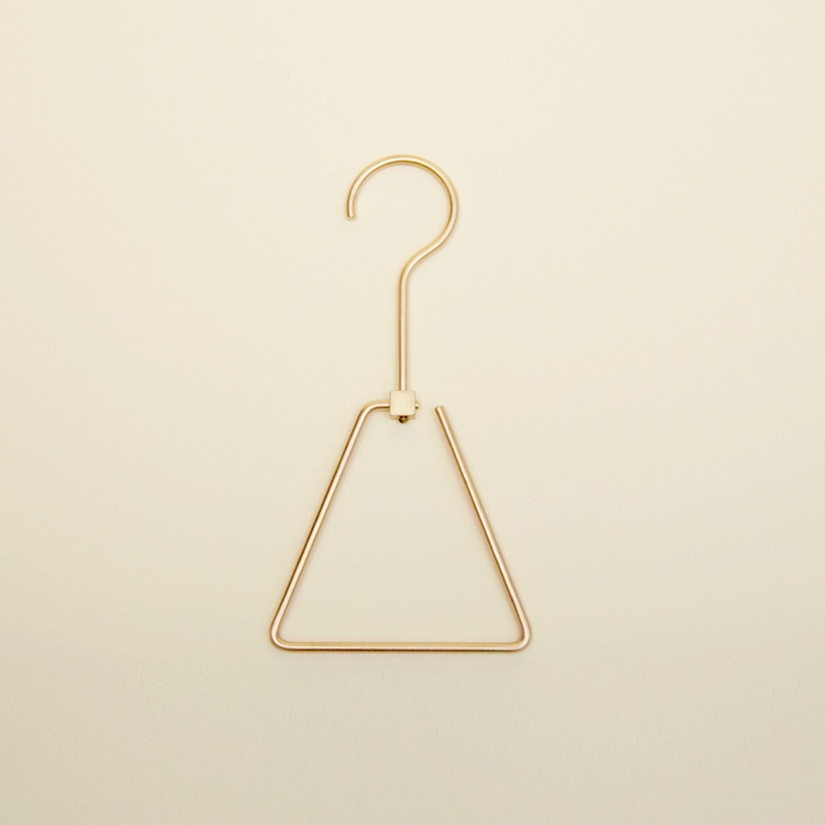 Brass Triangle Hanger