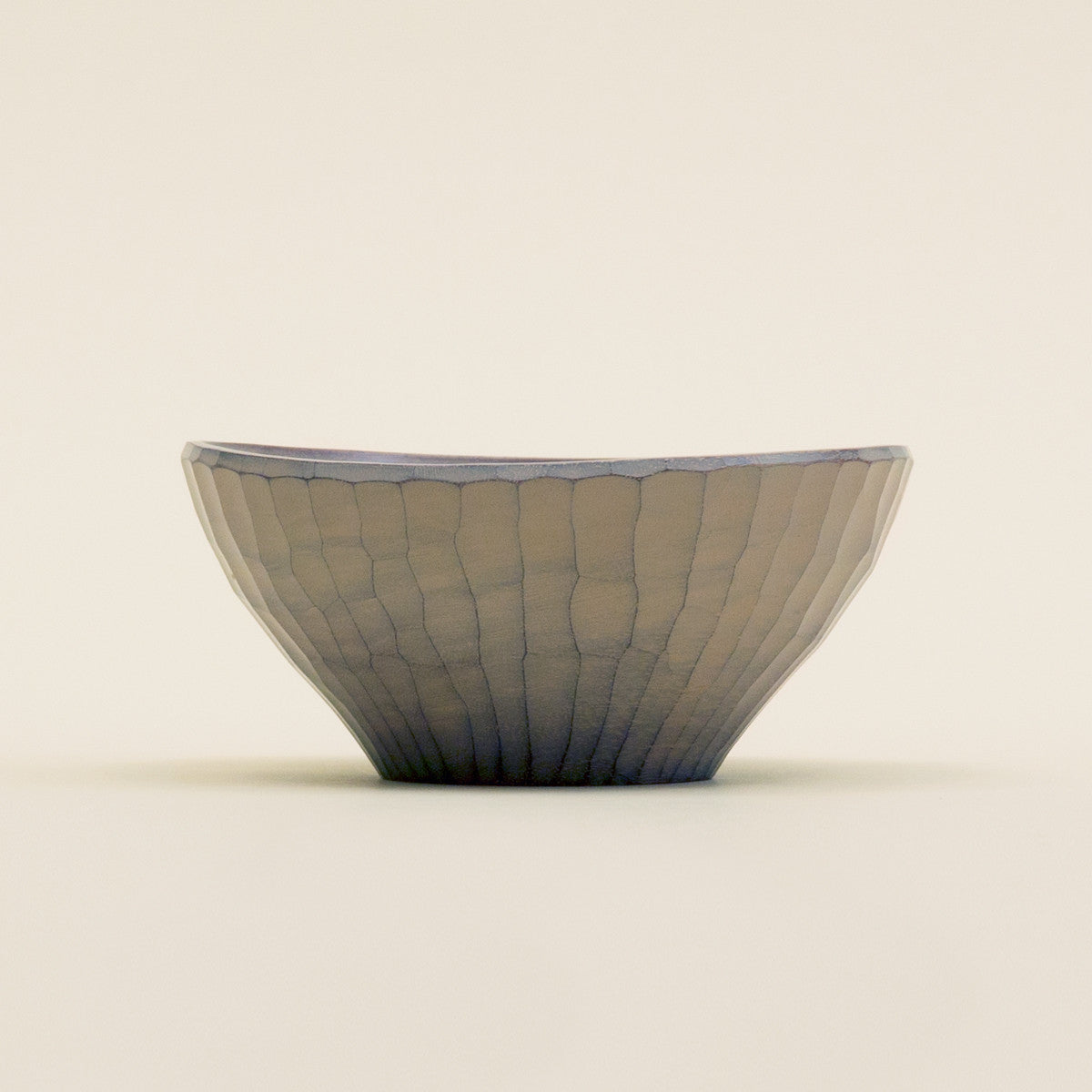 Wooden Bowl - White Lacquer