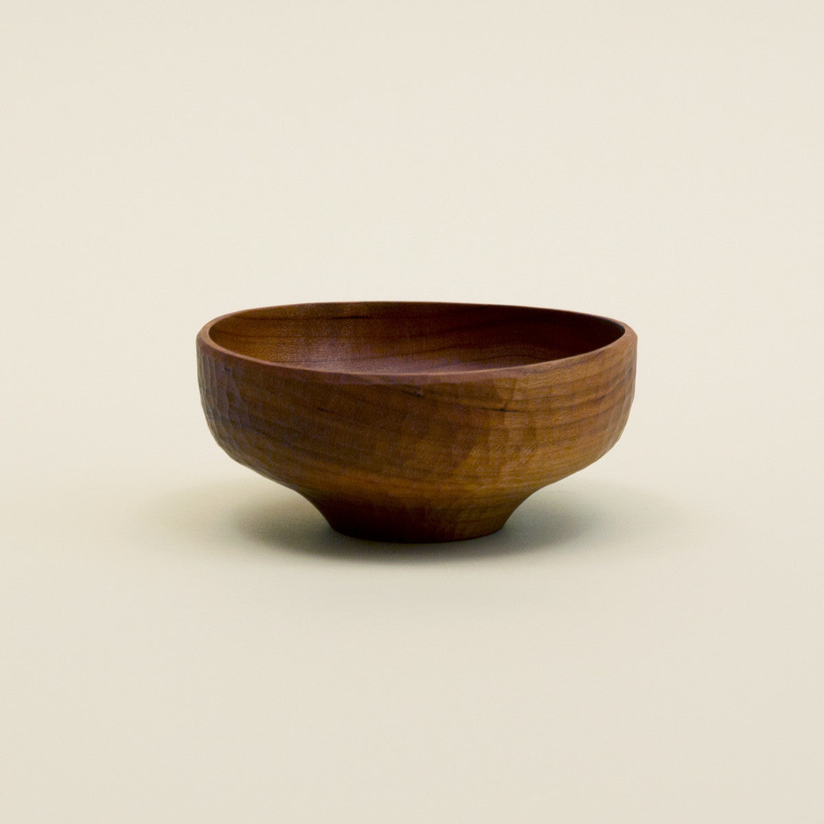 Wooden Soup Bowl