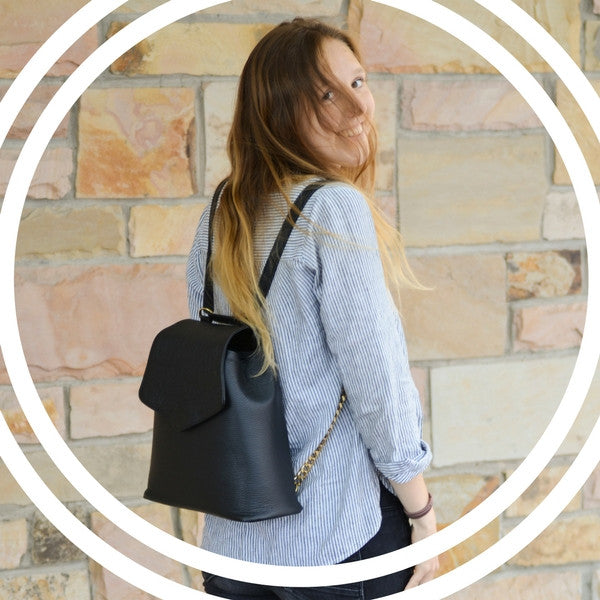 Our Favorite Product: A Stylish Yet Functional Leather Backpack