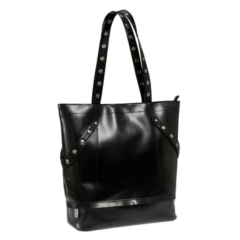 Hammitt LA City Tote - Black Leather Work Bag