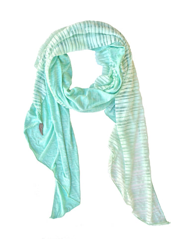 Donnie Charm Spring-Summer weight Splendid Scarf - Pale Mint Green