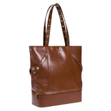 Hammitt City Tote Signature Cognac Handbag perfect for carry on