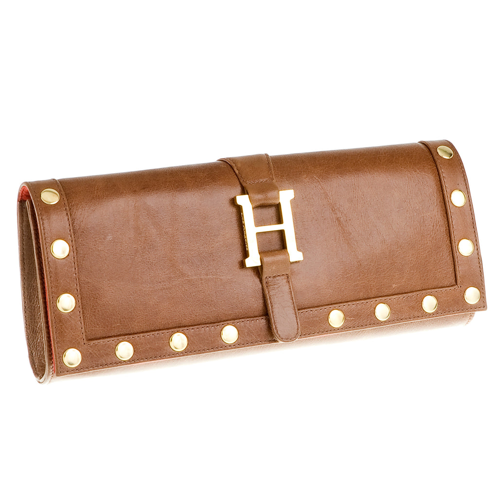 Hammitt Los Angeles Executive Leather Clutch