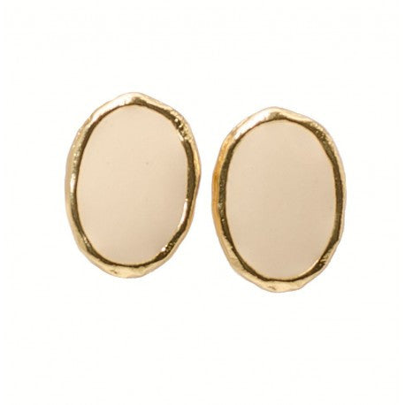 "Karine Sultan ""Leah"" Irregular Link Drop Earrings"
