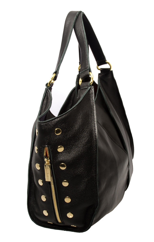 Hammitt Los Angeles Fets Tote with Gold Hardware