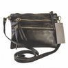 Pietro Alessandro Essex Matte Leather Crossbody Handbag