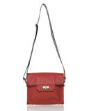 Alexandra Satine 3-in-1 sporty handbag with webbing strap